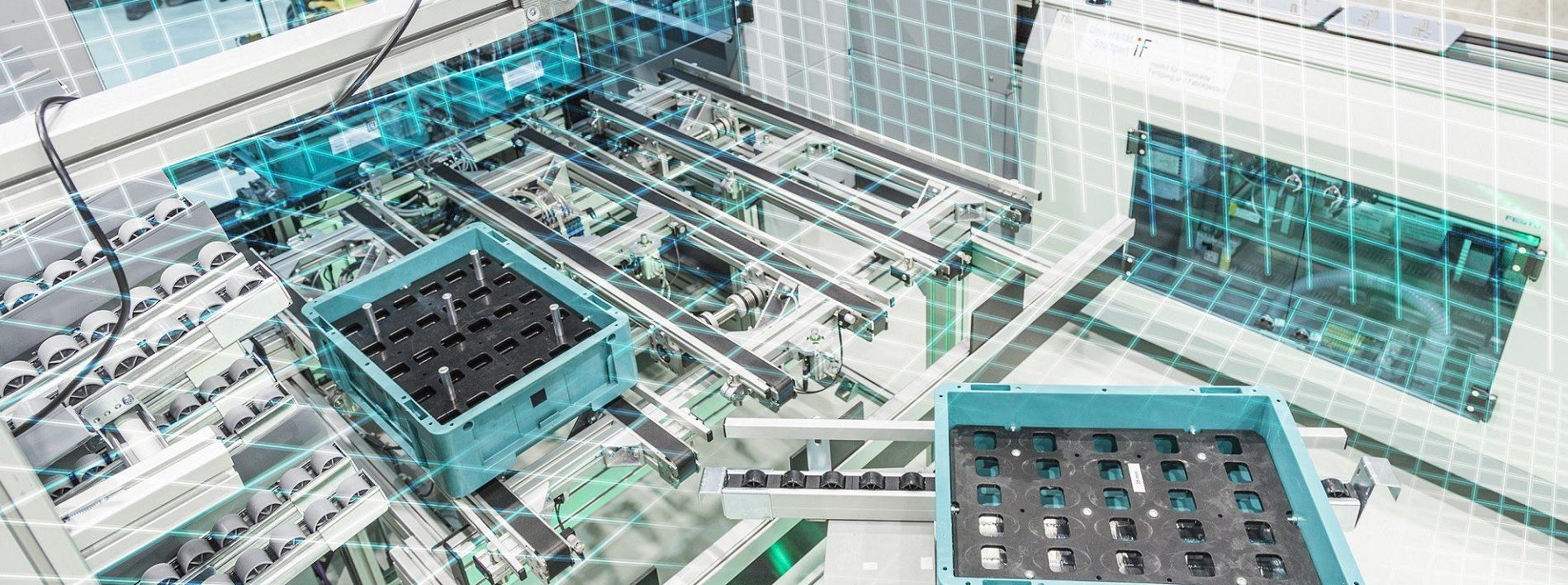 KI für die Umgebungserfassung und Optimierung von Produktionsprozessen.