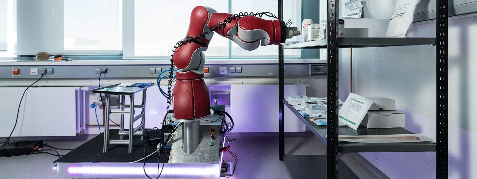 Kognitive Robotik: Wahrnehmung und Handlungsfähigkeit von Robotern.
