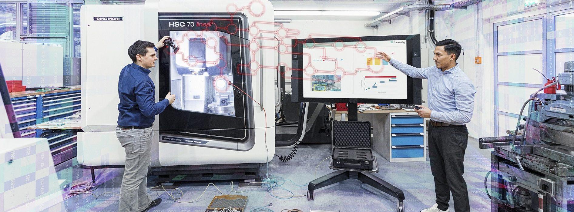 Smart, effizient und vernetzt - so soll die Produktion mithilfe von Zukunftstechnologien gestaltet sein.