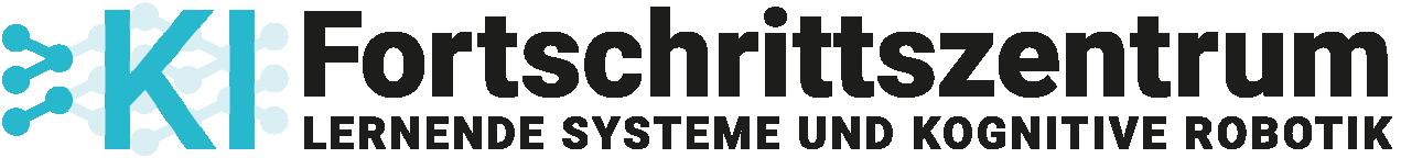 """Logo des KI-Fortschrittszentrums """"Lernende Systeme und Kognitive Robotik"""""""