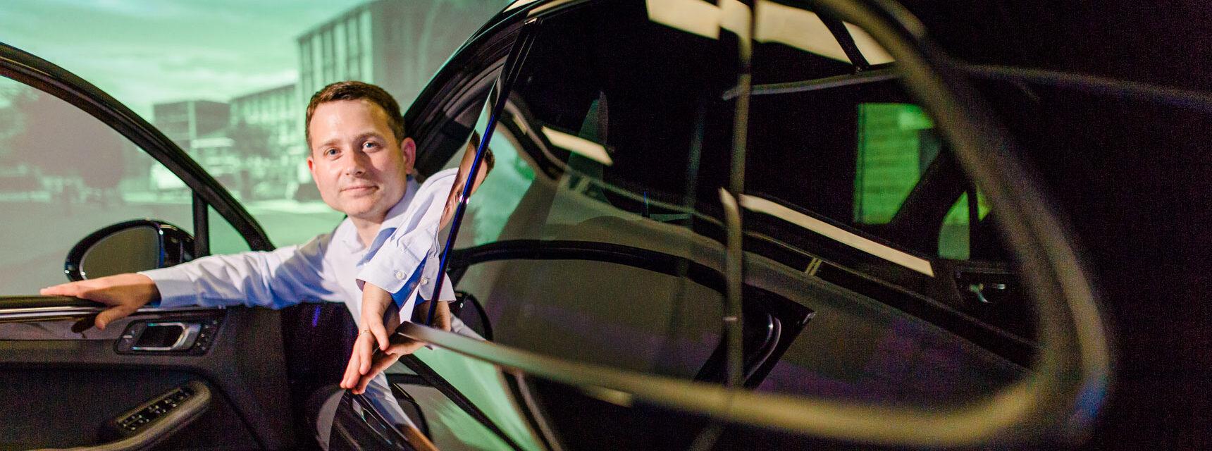 Adaptive Cruise Control: Regulierung per Driver Model